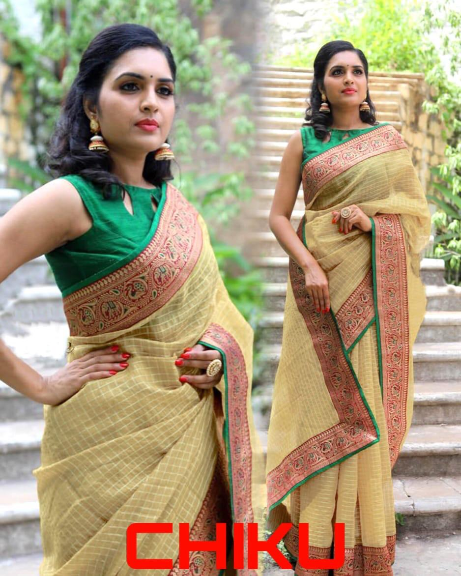 Heavy Cotton Saree 1