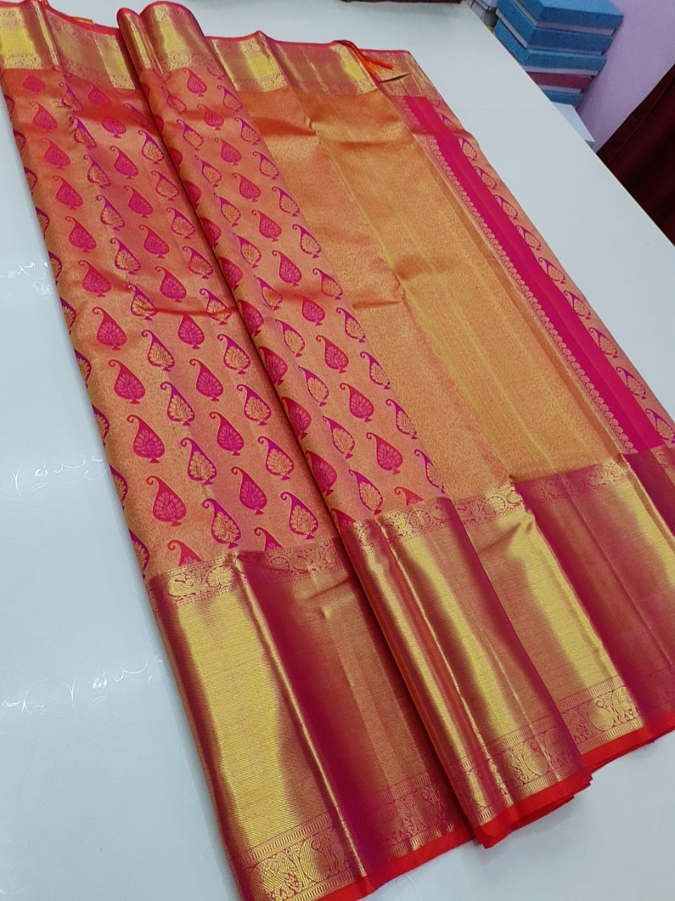 Pure Kanchipuram silk saree 1