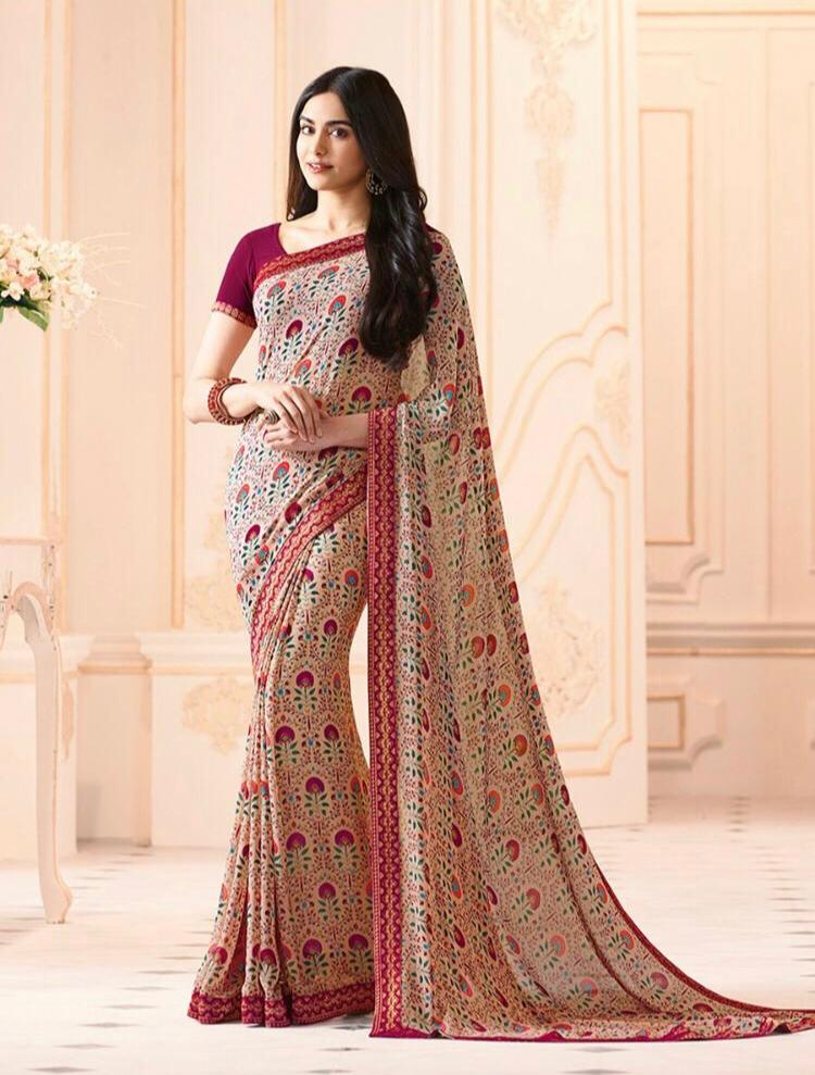 Georgette saree 1