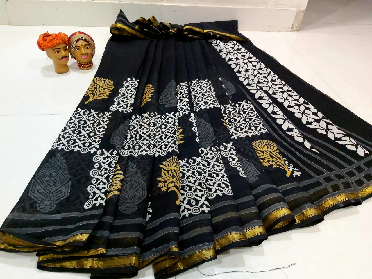 Mul Mul Cotton Saree 1