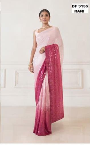 Beautiful Pure 3D Effect Designer Saree 1