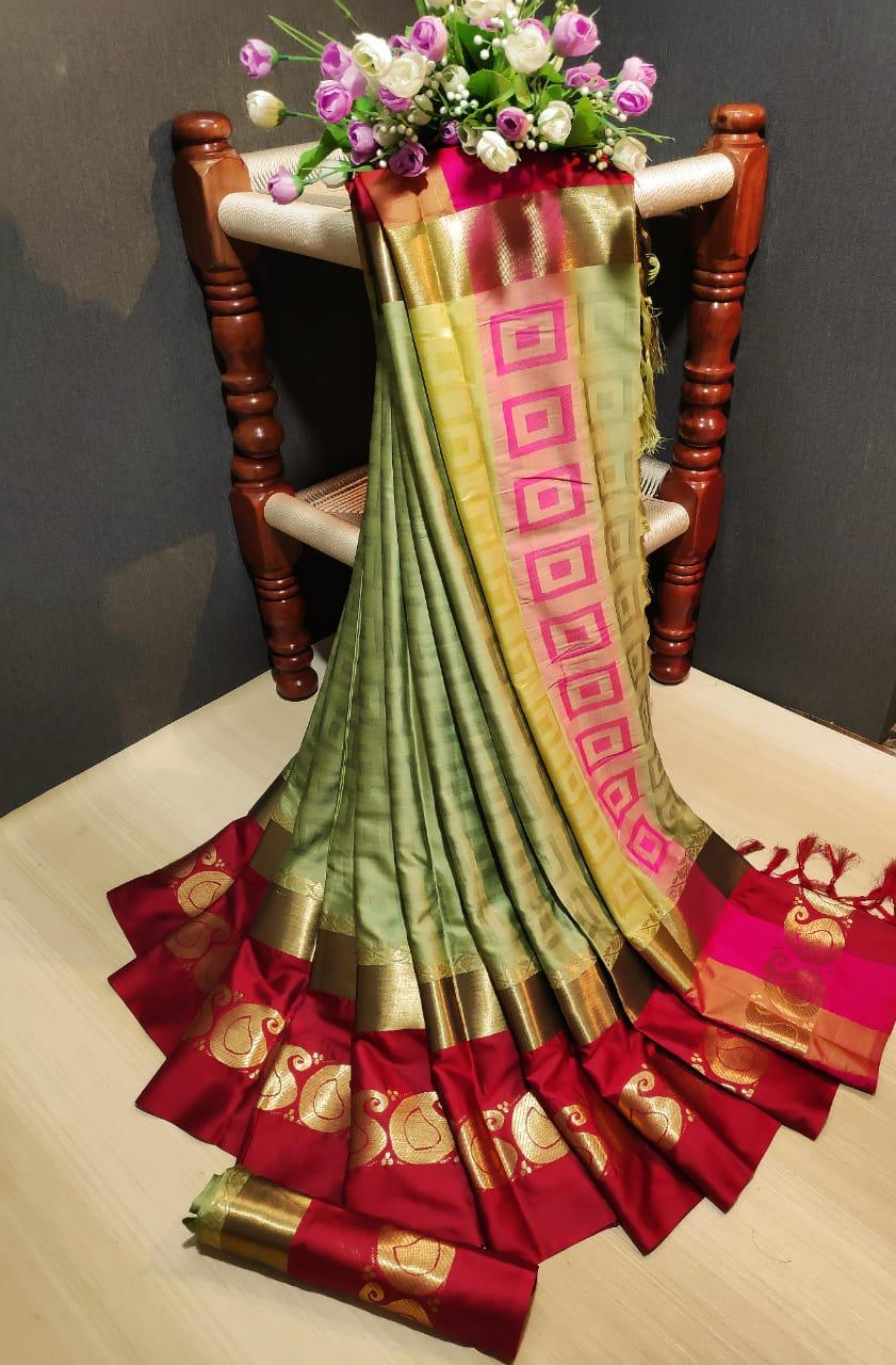 Stylish silk Sarees 1
