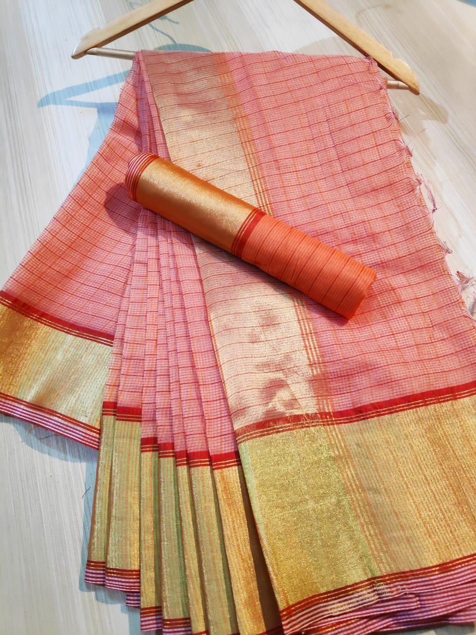 Organza Silk Saree 1