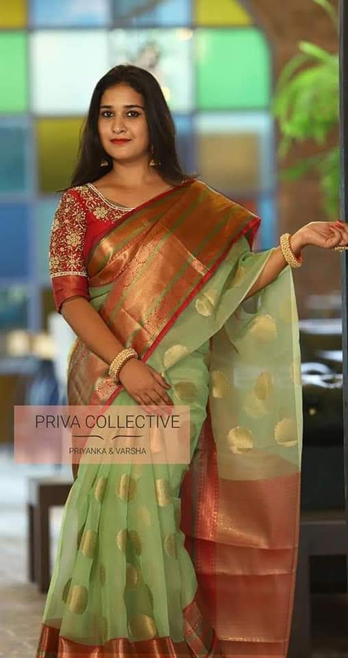 Light Weight Fashion Silk Saree 2