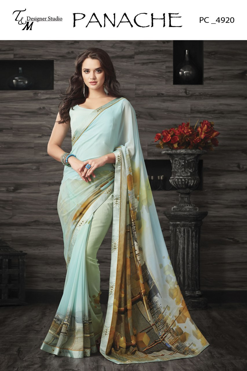 Exclusive georgette sarees 1