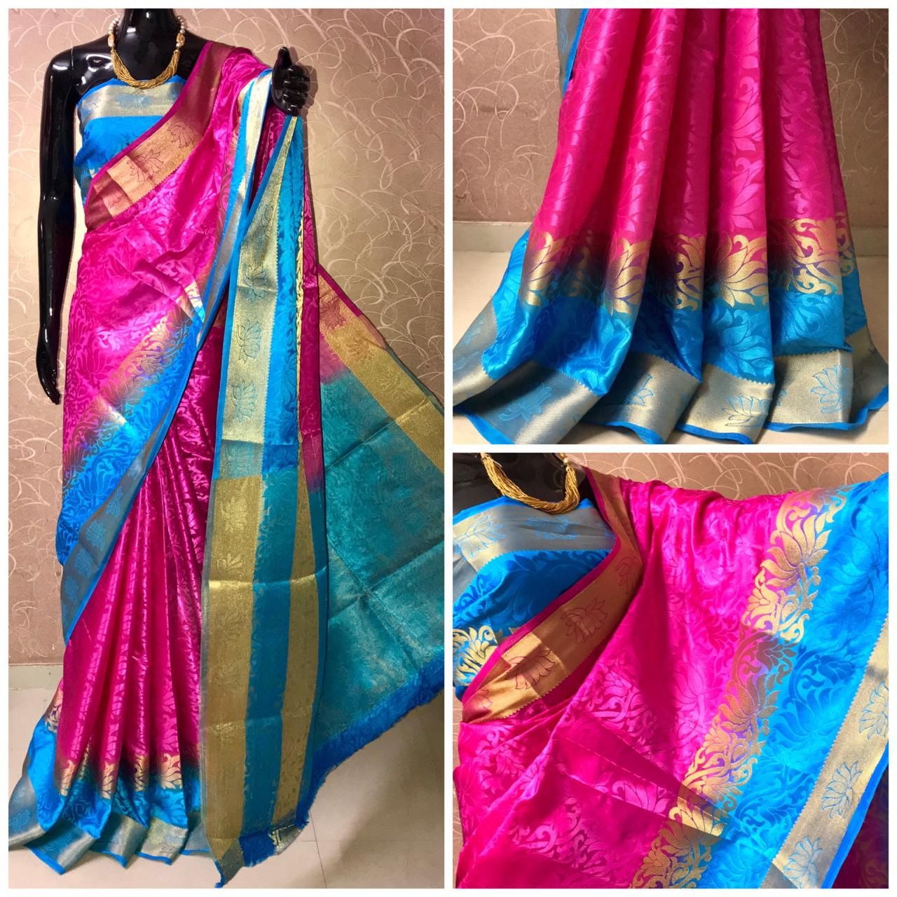 Latest Tussar Silk Sarees 1