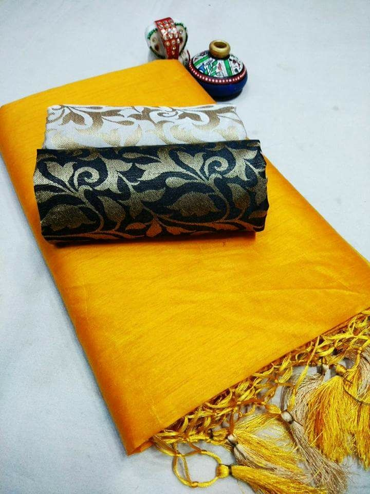 Designer Cotton Sarees 1