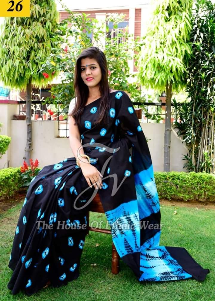 Attractive Mulmul Cotton Saree 1