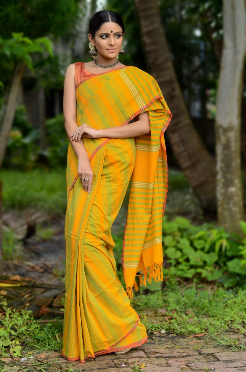 Khadi Cotton Sarees 1