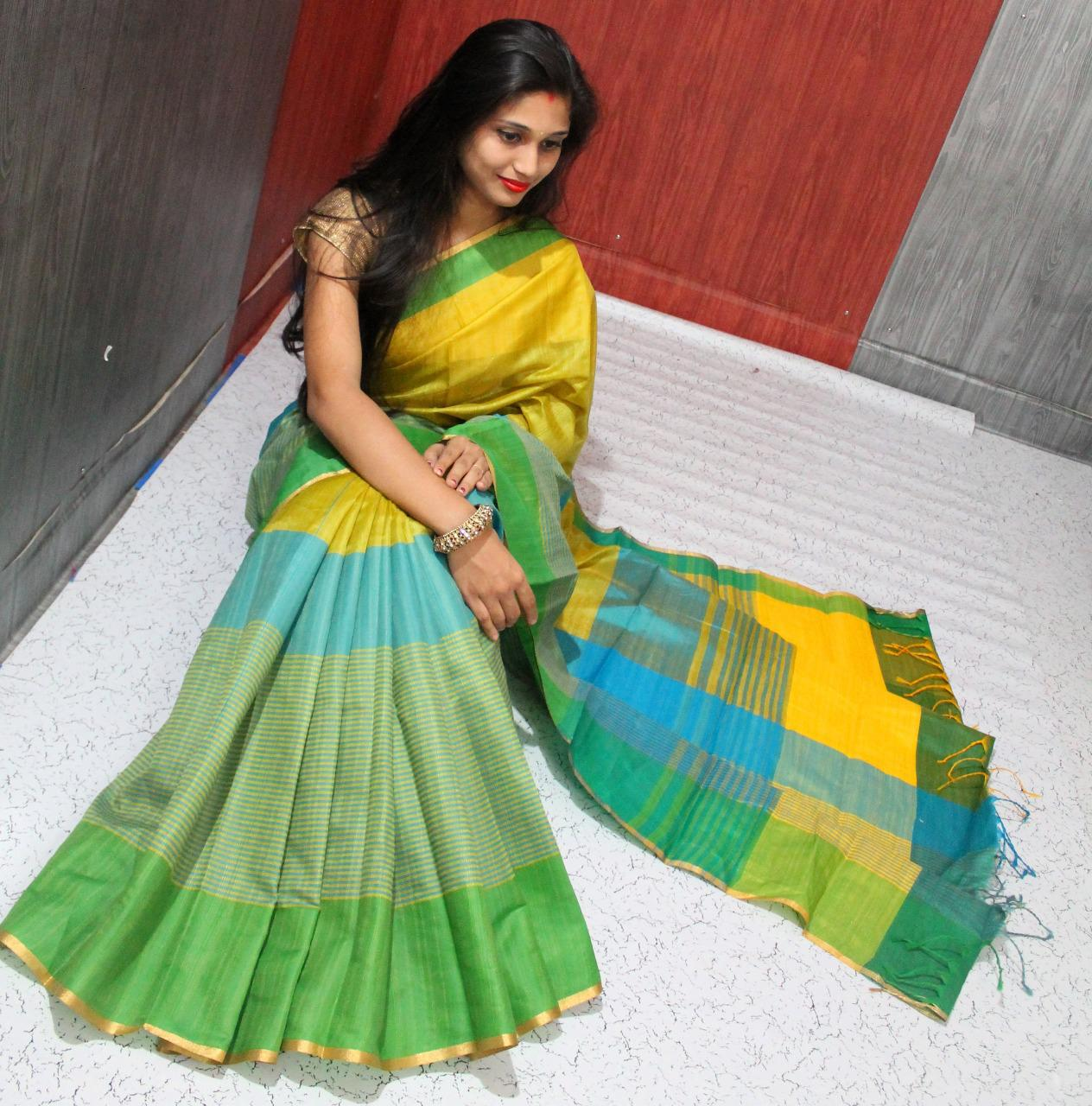 Raw Silk Saree 1