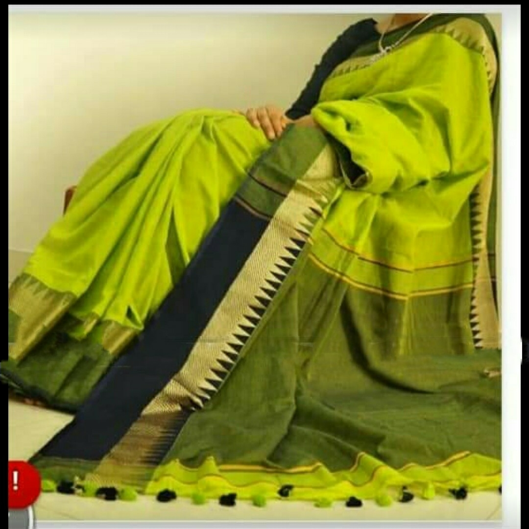 Silk Cotton Saree 1