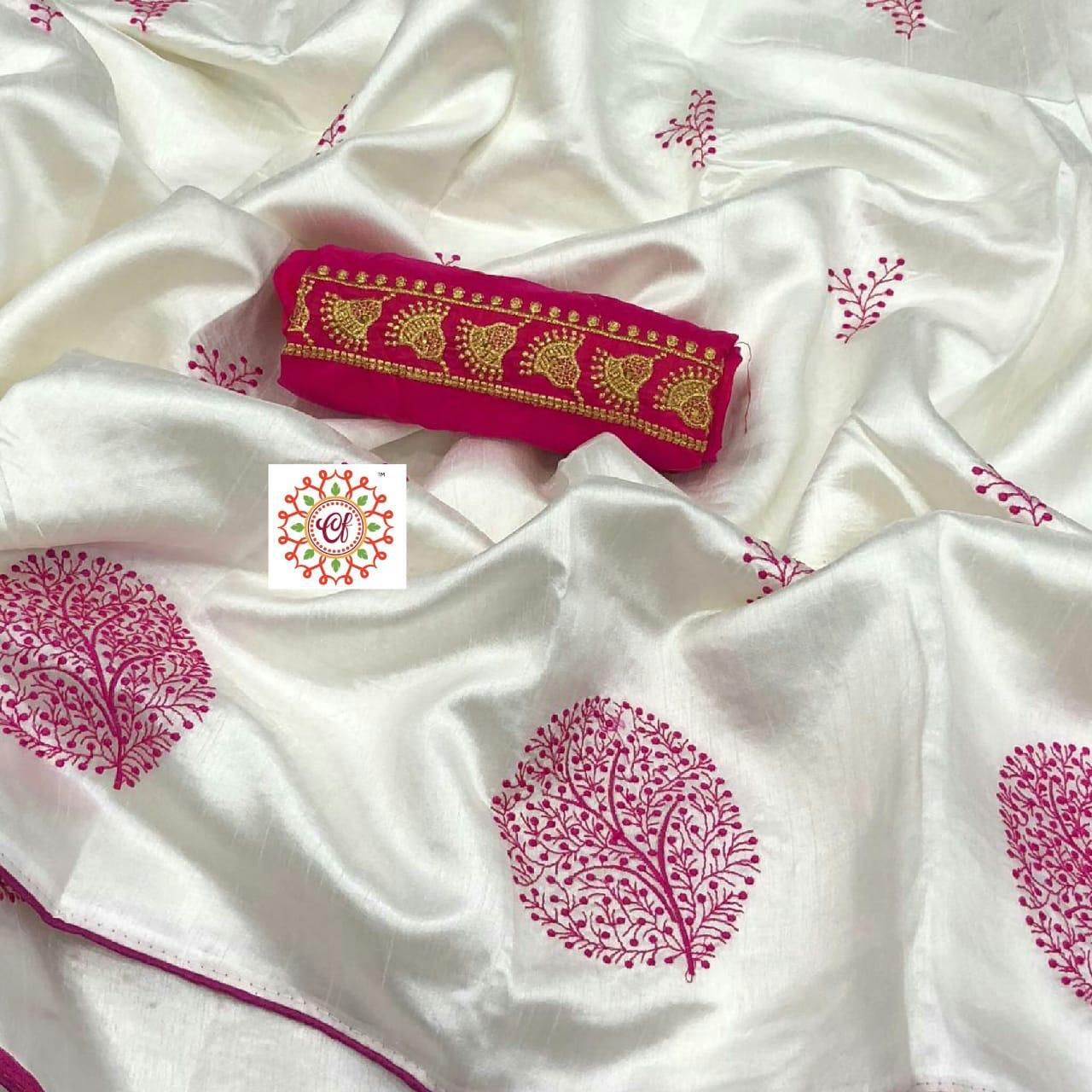 Paper Silk saree 1