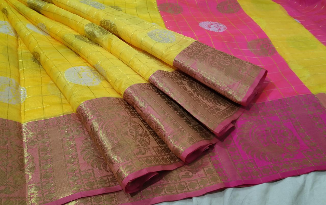 Muslin Soft  Silk Saree 1