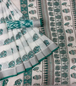 Trendy Soft Linen Saree