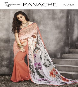 Exclusive georgette sarees