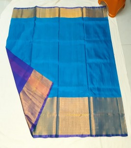 Grand Big Border Uppada Silk Sarees