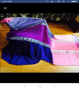 Pure khadi Cotton Sarees