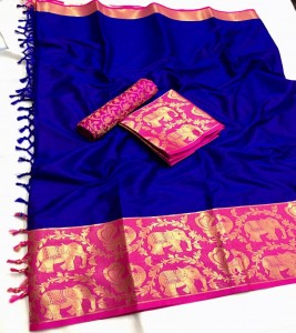 Cotton Silk Damakka