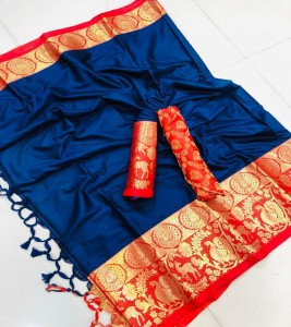 Rich Cotton Silk Sarees