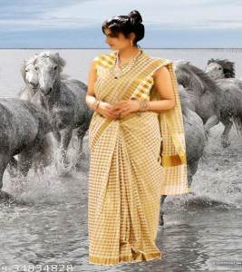 Attractive Onam Collections Sarees